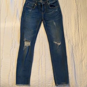 Blue ripped Vigoss Jeans